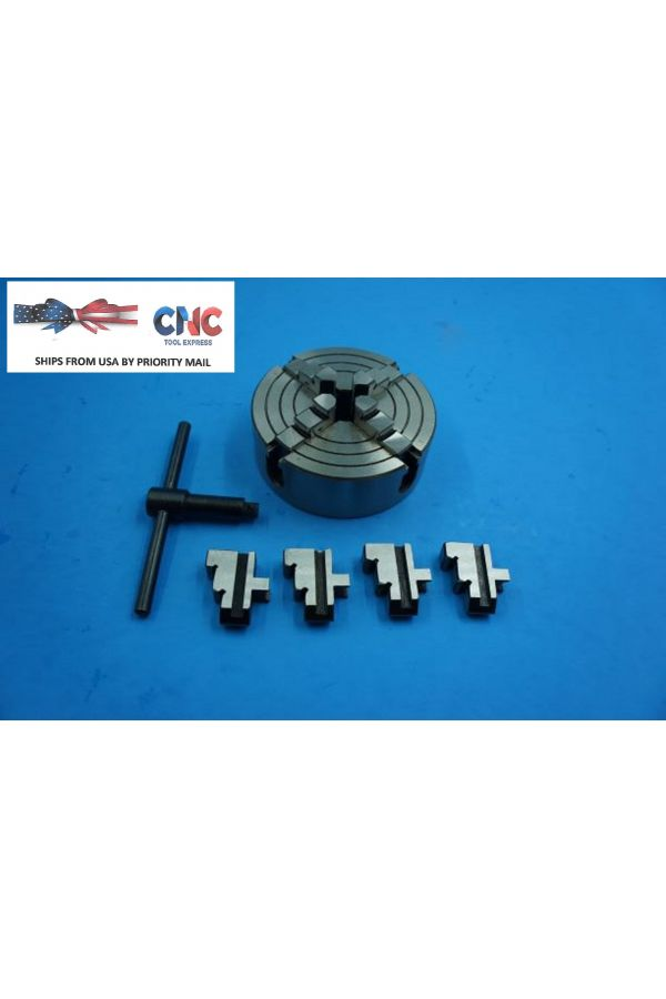 """3""""  4 JAW INDEPENDENT LATHE CHUCK"""