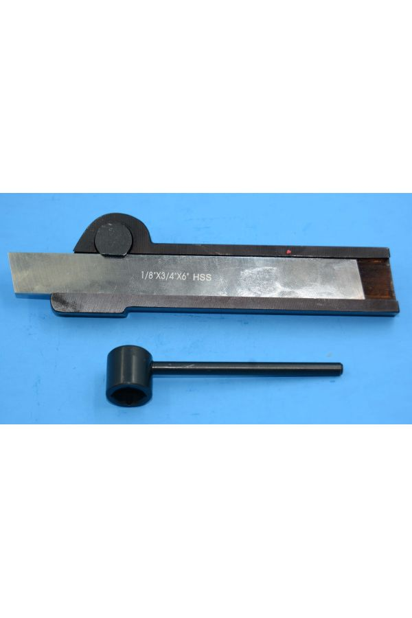 PARTING TOOL HOLDER AND BLADE FOR LARGE LATHE 3/4 x 6