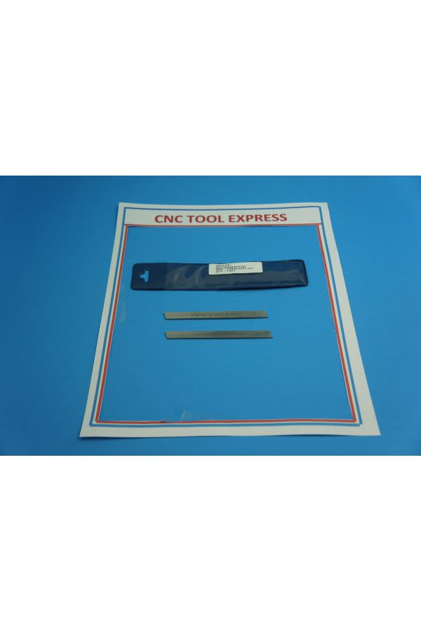 """PARTING TOOL BLADE SET FOR SMALL LATHE 2  3/32 X 1/2 X 4"""""""