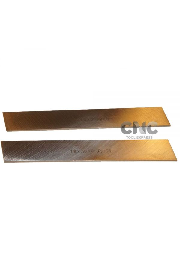 PARTING TOOL BLADES FOR LARGE LATHE HSS 1/8 x 7/8 X 6