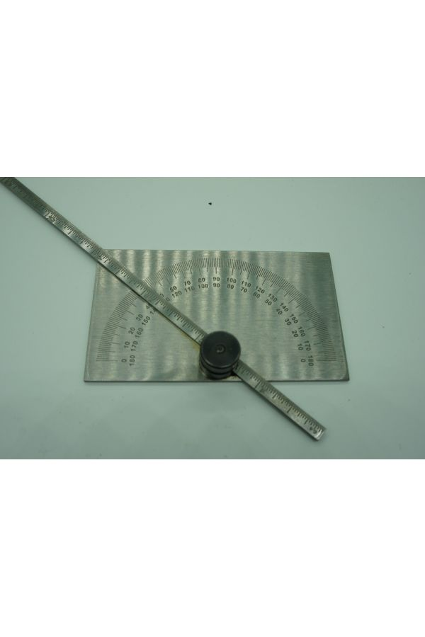 6 inch  Protractor and Depth Gauge