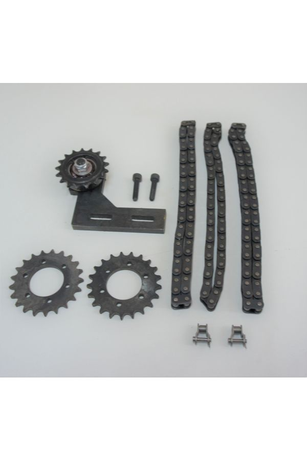 CHAIN DRIVE ASSEMBLY WITH ADJUSTABLE IDLER