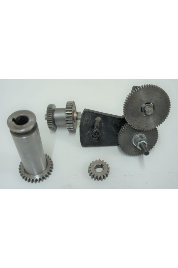 CHANGE GEAR ASSEMBLY FOR LATHE- COMPLETE