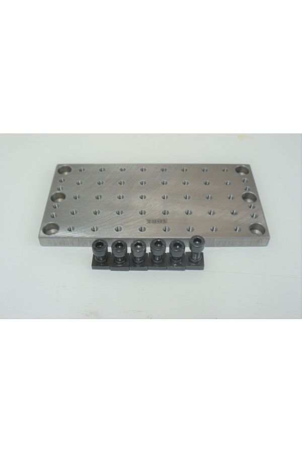 STEEL FIXTURE PLATE FOR MINI MILL