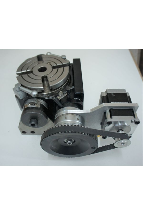 "CNC TILTING ROTARY TABLE 4.3 "" DIAMETER"